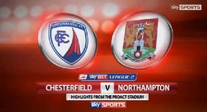 Chesterfield 0-0 Northampton