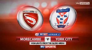 Morecambe 0-0 York City