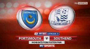 Portsmouth 1-2 Southend