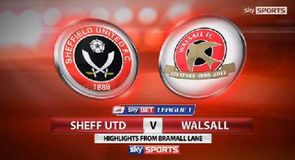 Sheffield Utd 1-1 Walsall