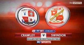 Crawley 0-0 Swindon