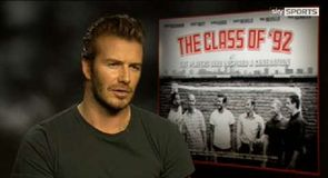Beckham – We looked up to Giggs