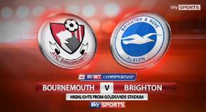 Bournemouth 1-1 Brighton