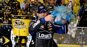Sprint Cup joy for Johnson