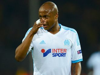 Ayew: Set for two months out