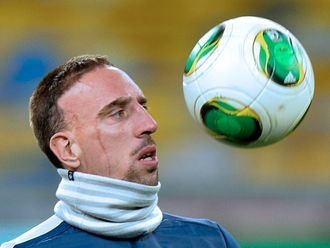 Ribery: Sad to see Ibra miss out