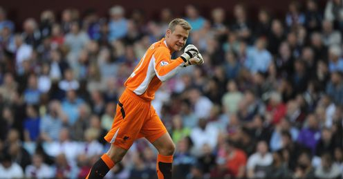 Mignolet: signed for Liverpool from Sunderland in June for �9million