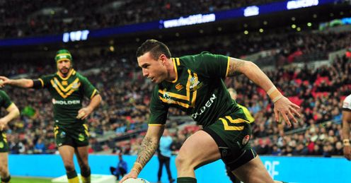 Australia v Fiji: Darius Boyd