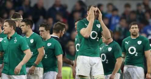 Ireland: impressive display against New Zealand