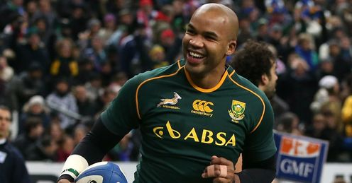 France v South Africa: JP Pietersen