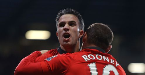 Deadly duo: United need to help out Van Persie and Rooney, says Souness