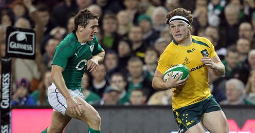 Michael Hooper Australia Eoin Reddan Ireland