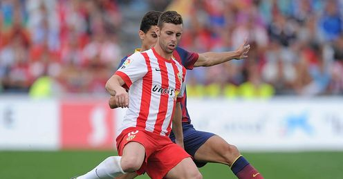 Rodri goal enough for Almeria