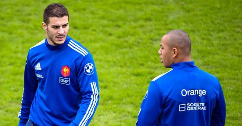 France name two debutants