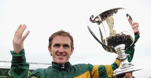 McCoy: celebrated 4,000th career win at Towcester on Thursday