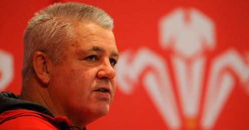 Gatland: keeping his troops solely focussed on the game