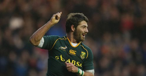 AFRICA NATIONAL RUGBY UNION TEAM Willie Le Roux South Africa Scotland