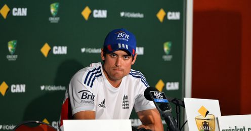 Cook: We're not intimidated