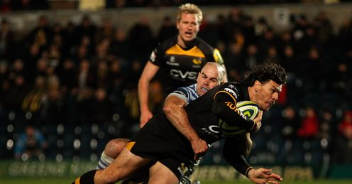 BEN JACOBS WASPS SARACENS LV= CUP