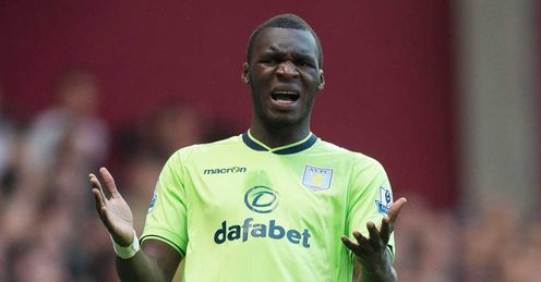 Benteke: crucial to Villa's hopes, says Merse