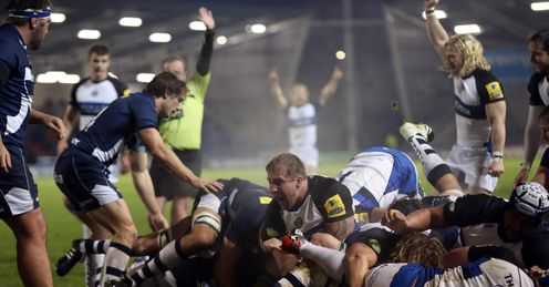 FOOTBALL RUGBY UNION LV=CUP Anthony Perenise Bath LV