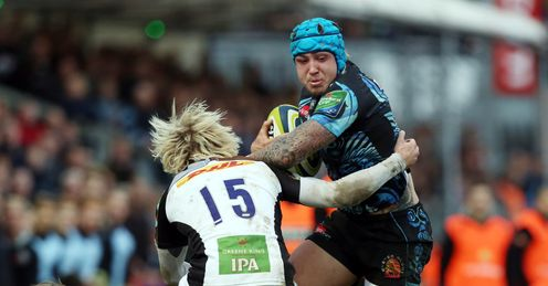 FOOTBALL RUGBY UNION LV=CUP Jack Nowell  Exeter LV
