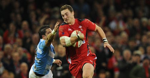george north wales v argentina