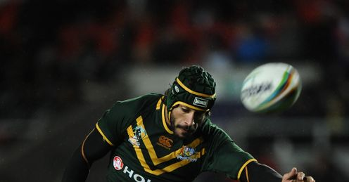 Johnathan Thurston Rugby League World Cup AUSTRALIA