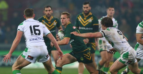 LEAGUE WORLD CUP Daly Cherry-Evans Australia Ireland