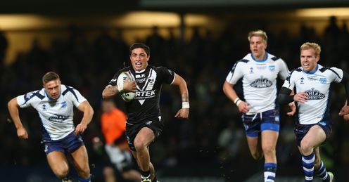 LEAGUE WORLD Kevin Locke Kiwis RLWC