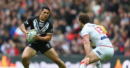 Roger Tuivasa-Scheck Rugby League World Cup New Zealand England Wembley