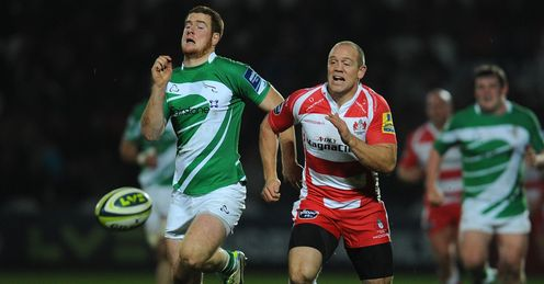 Rory Clegg Mike Tindall Newcastle Falcons  Gloucester