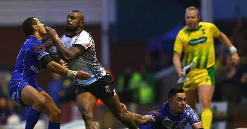 RUGBY LEAGUE WORLD CUP FIJI  SAMOA AKUILA UATE