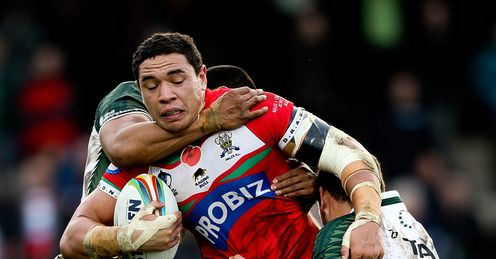 RUGBY LEAGUE WORLD CUP TYSON FRIZELL WALES COOK ISLANDS