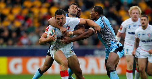 Sam Burgess  England Fiji