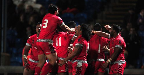 TONGA RUGBY LEAGUE WORLD CUP ITALY