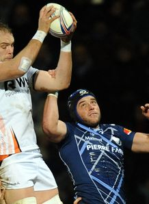 Alun Wyn Jones Ospreys v Castres HEC 2013