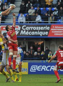 Clermont v Scarlets Damien Chouly