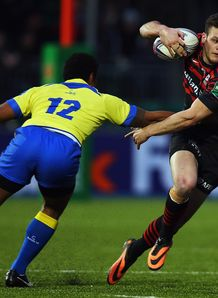 Duncan Taylor stepping for Saracens