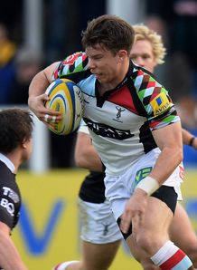Harlequins wing Sam Smith