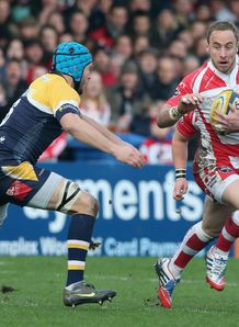 Jimmy Cowan on a run for Gloucester