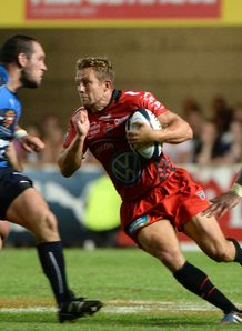 Jonny Wilkinson for Toulon against Montpellier