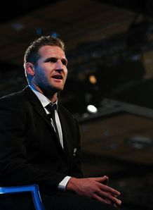 Kieran Read NZ Rugby Awards 2013