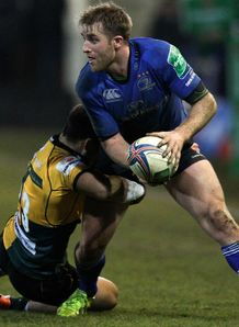 Luke Fitzgerald of Leinster v Saints