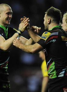 Mike Brown and Danny Care Harlequins 2013