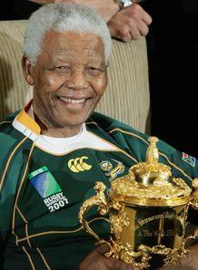 Nelson Mandela Springboks 2007 RWC 2013