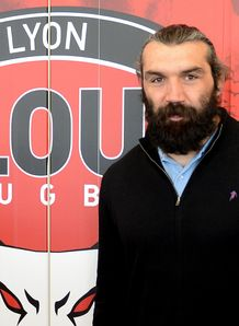 Sebastien Chabal at Lyon