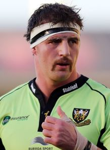 Tom Wood thumbs up for Northampton