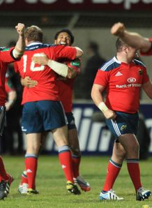 Heineken Cup Pool 6: Peter O'Mahoney was delighted by Munster's win at Perpignan