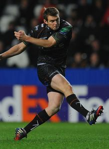 RaboDirect Pro12: Aisea Natoga hat-trick helps Ospreys to Cardiff win